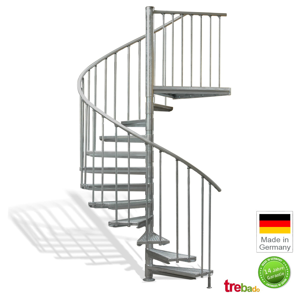 au entreppe 180 gewendelt 11 stufen plus podest h he 282 cm treppen bausatz do it yourself. Black Bedroom Furniture Sets. Home Design Ideas