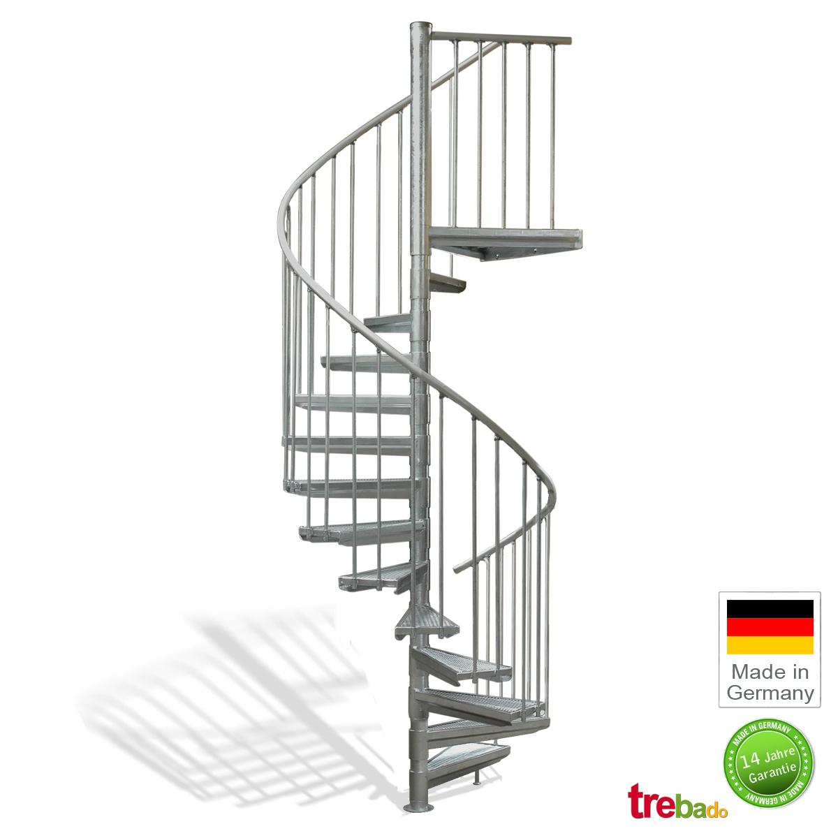 au entreppe 140 gewendelt 13 stufen plus podest h he 329 cm treppen bausatz do it yourself. Black Bedroom Furniture Sets. Home Design Ideas